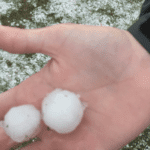 Hail in Littleton CO