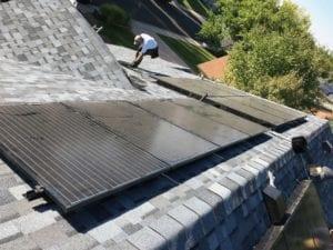 New Roof Plus Solar Panels