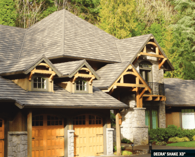 image of metal shake roof from DECRA