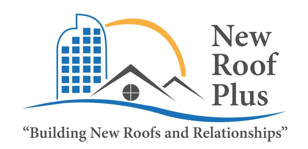 New Roof Plus logo with tagline beneath