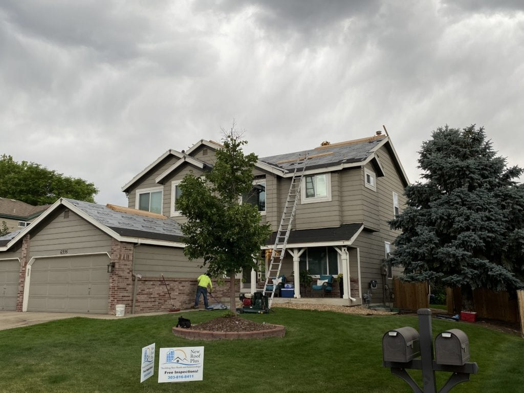 roof prep for Decra roof install Columbine Knolls South Littleton