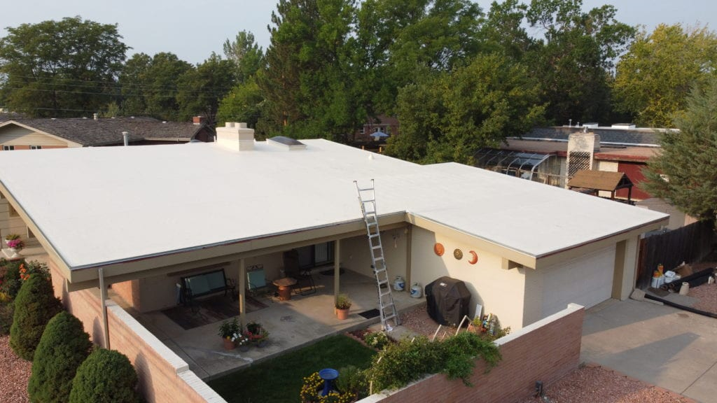 Flat roof repair and replacement